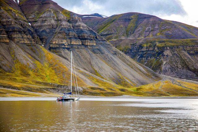 Voyage Spitzberg, exploration de l'Isfjord