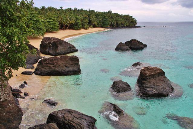Plage de Banana - Sao Tomé