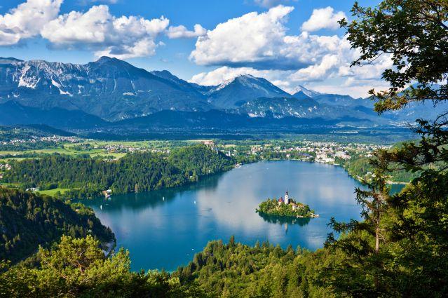 Voyage Du lac de Bled aux montagnes du Triglav en VTT