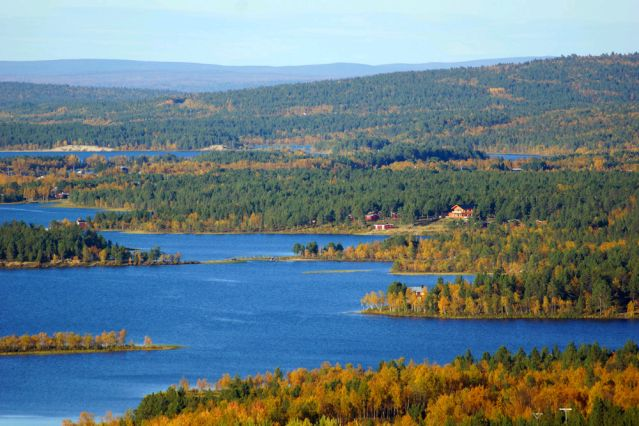 Fabuleux Randonnée Suède - Randonnée sur la piste Royale - Randonnée Suède  VL27