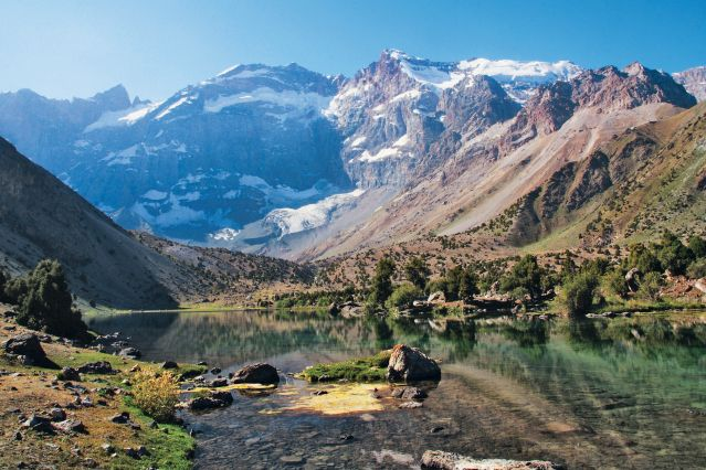 Lac Koulikalon dans les Monts Fanksye - Tadjikistan