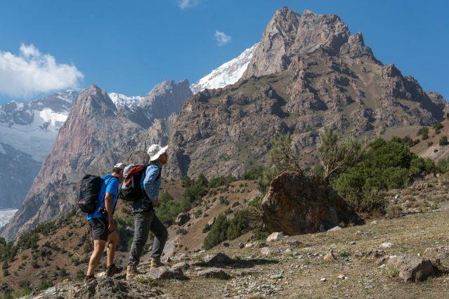 Gorge Sanguisafed - Monts Fanskye - Tadjikistan