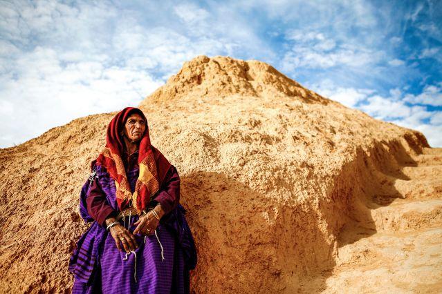 Femme de Tataouine - Tunisie