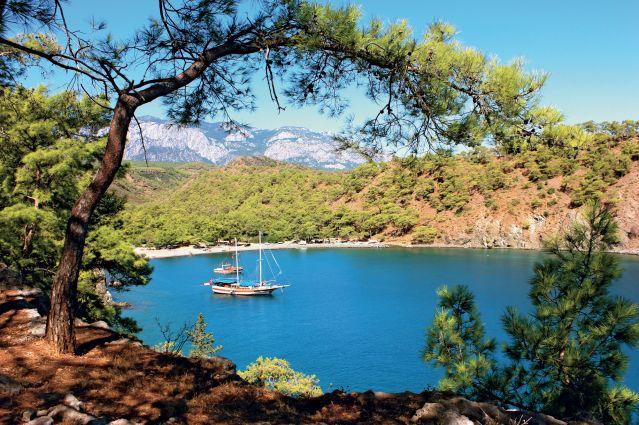 Voyage Criques lyciennes