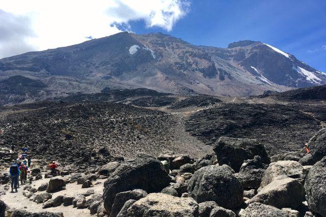 Kilimandjaro, voie Machame - Tanzanie