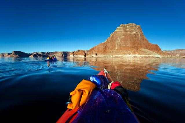 Voyage Aventure en kayak sur le lac Powell