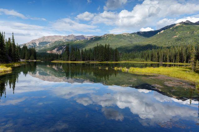 Lac Horseshoe - Parc national et réserve de Denali - Alaska - Etats-Unis