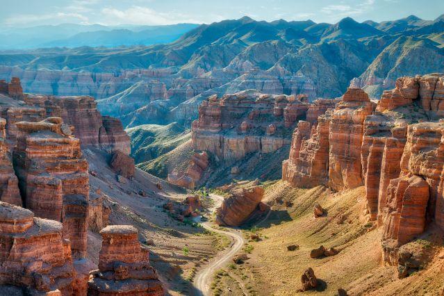 Voyage Du canyon de Charyn aux coupoles de Samarcande