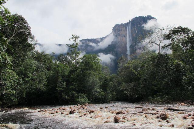 Cascade du Salto Angel - Venezuela