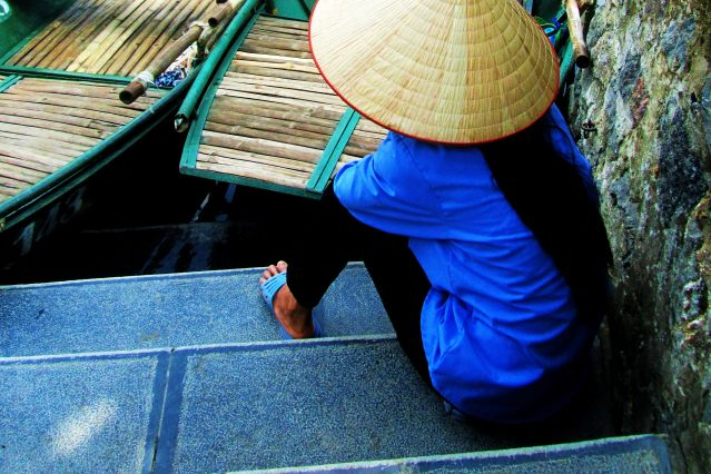 Dans la région de Ninh Binh - Vietnam