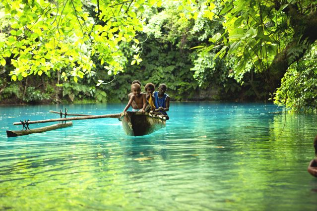 Blue Hole - Espiritu Santo - Vanuatu