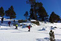 Les flocons d'Andorre en famille