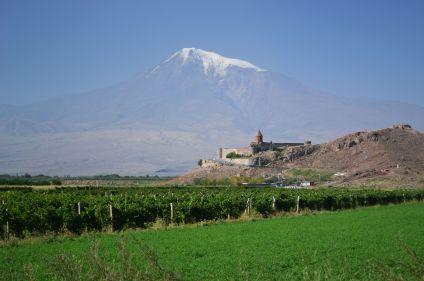 Promenade au pied du mont Ararat