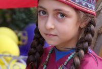 Petits randonneurs du Caucase