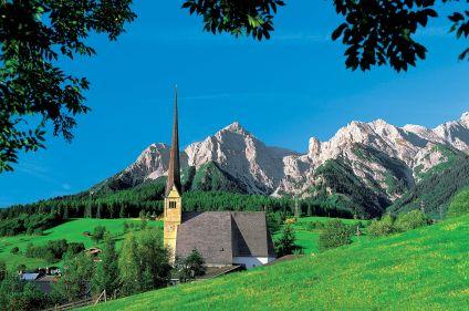 Les contreforts du Tyrol
