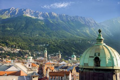 Le Tyrol à vélo