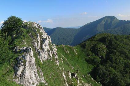Itinérance dans les montagnes du Balkan central