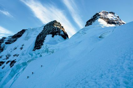 Pequeño Alpamayo, Chachacomani et Sajama (6542m)