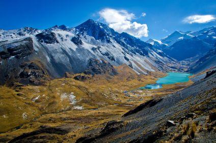Ile du Soleil et trekking en cordillère Royale