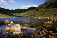 Le long des Appalaches à travers la Gaspésie