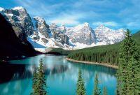 Cols et glaciers des Rocky Mountains