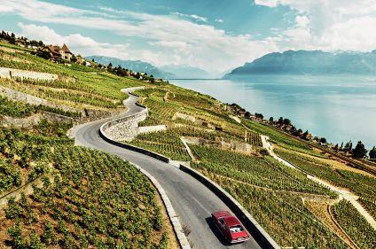 Lac Léman, Oberland bernois et Gruyère à vélo