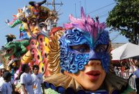 Guajira, Carthagène et carnaval de Barranquilla