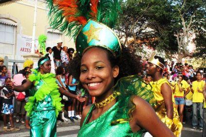 Cap-Vert, carnaval créole