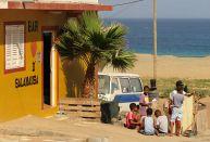 Actions colorées au Cap-Vert
