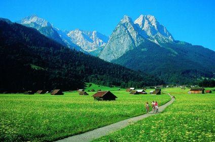 Lacs et traditions bavaroises à vélo