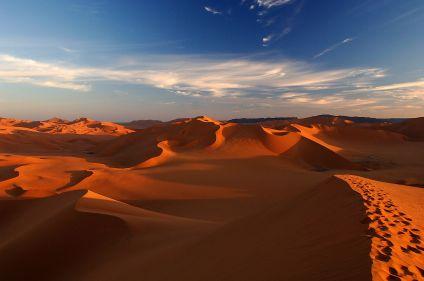 Les dunes de Mehedjebat