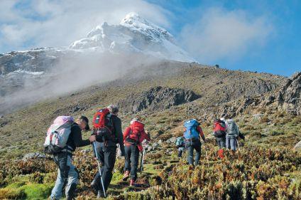 Trekking au coeur des Andes