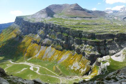 Les grands canyons du mont Perdu
