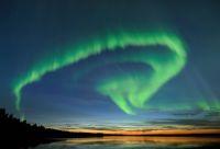 Du vert dans le ciel