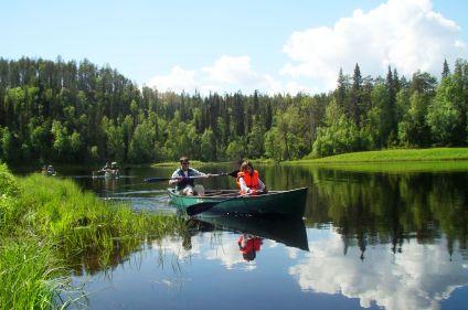 Rivières et lacs de Laponie
