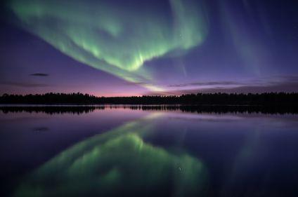 Aurores boréales de Laponie