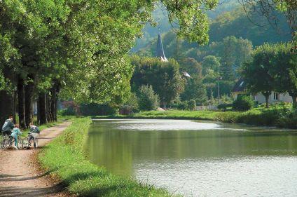 Escapade en Bourgogne à vélo