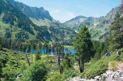 Randonnée dans le parc des Pyrénées catalanes