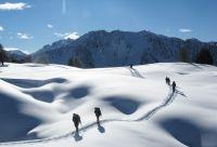 Queyras, découverte du ski de randonnée nordique