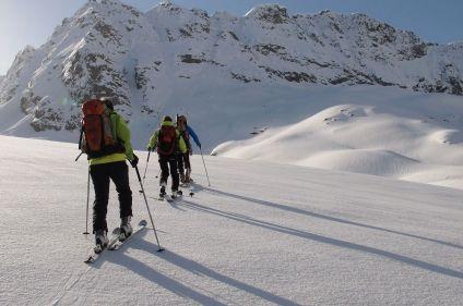 Glaciers de Haute Maurienne à ski