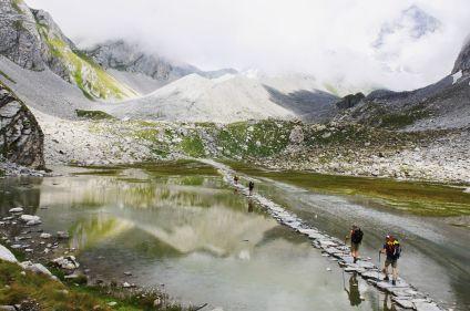 La grande traversée des Alpes, du Léman à Menton