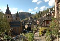 Les chemins du Puy-en-Velay à Conques