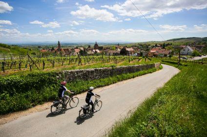 Villages et vignobles alsaciens à vélo