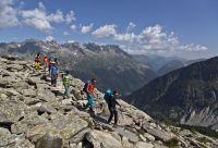 Haute route du Tour du Mont-Blanc
