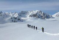 Cervières, vallée du Briançonnais en ski de fond