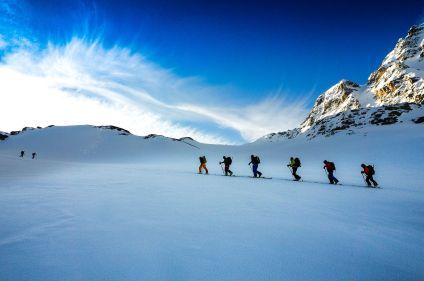 Initiation au ski de rando à Chamonix