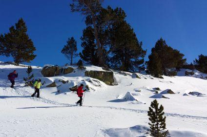 Raquette en Andorre