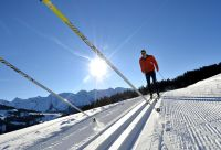 Ski de fond sensation dans les Aravis