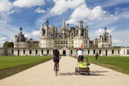 Vallée royale à vélo entre Blois et Tours