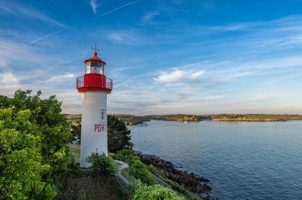 Brest à Quimper à vélo par la presqu'île de Crozon
